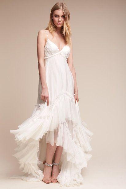 Ivory Soie Gown | BHLDN