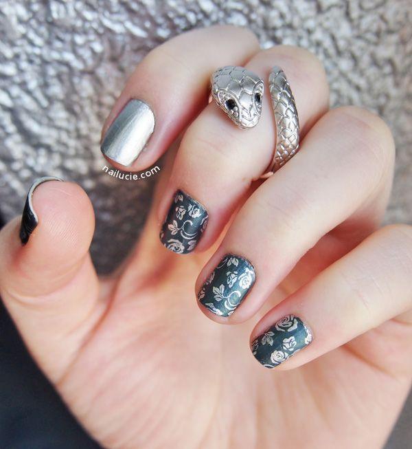 Peggy Sage Emerald Nail Art Nails Pinterest Emerald Nails