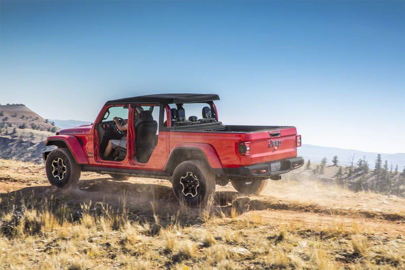 2020 Gladiator Soft Top Jeep Gladiator Wrangler Pickup Jeep Wrangler Pickup