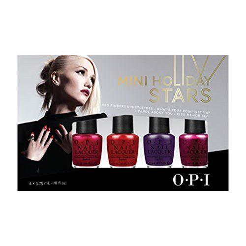 Nail Color Summer OPI Gwen Stefani 4-Pack Mini Holiday Stars -- You can find more details by visiting the image link.