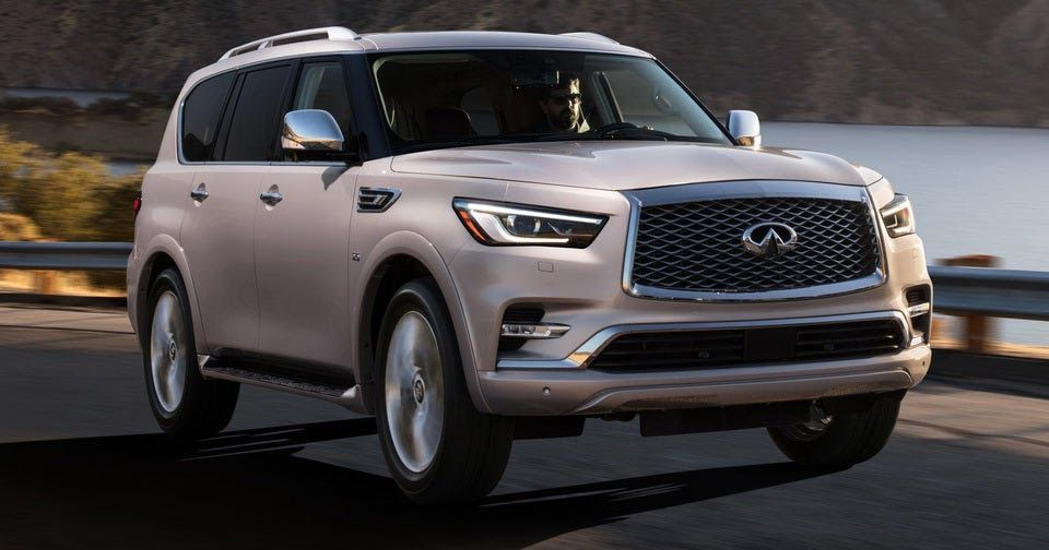 Infiniti Details 2018 QX80 FullSize SUV, Priced From
