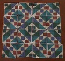 """""""The Wells of Happiness"""" Possible pattern for memory quilt."""