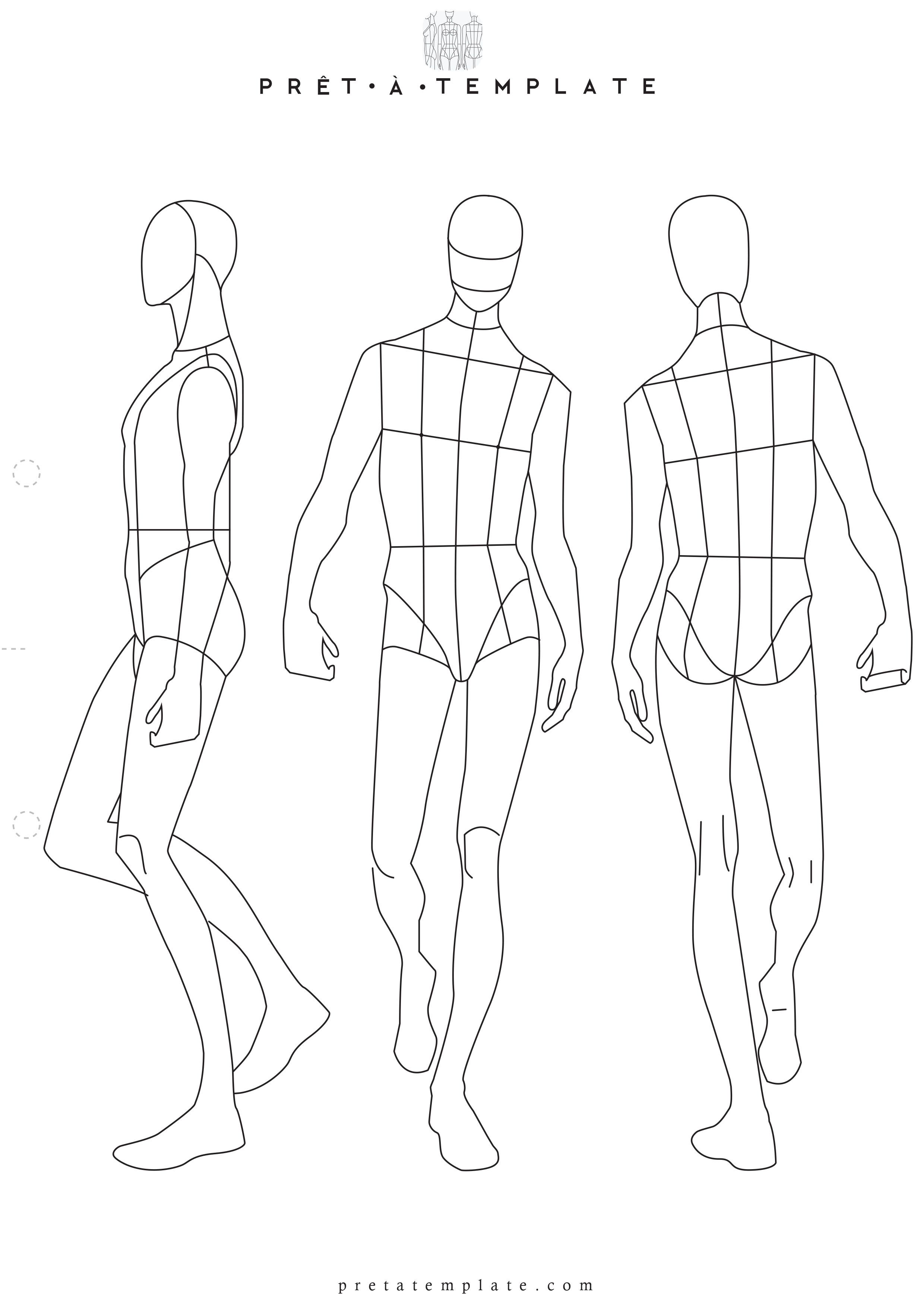 Download Fashion Figure Templates Pret A Template Illustration Fashion Design Fashion Design Sketchbook Fashion Figure Drawing