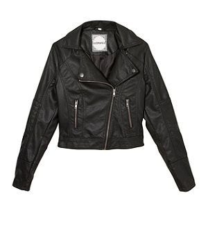 black leather jacket for girls google search styles
