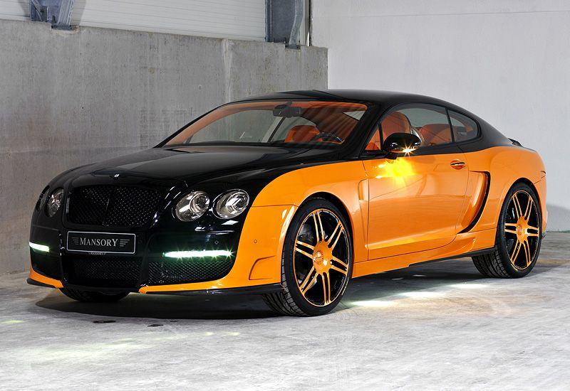 2008 Bentley Continental Gt Le Mansory Bentley Continental Gt
