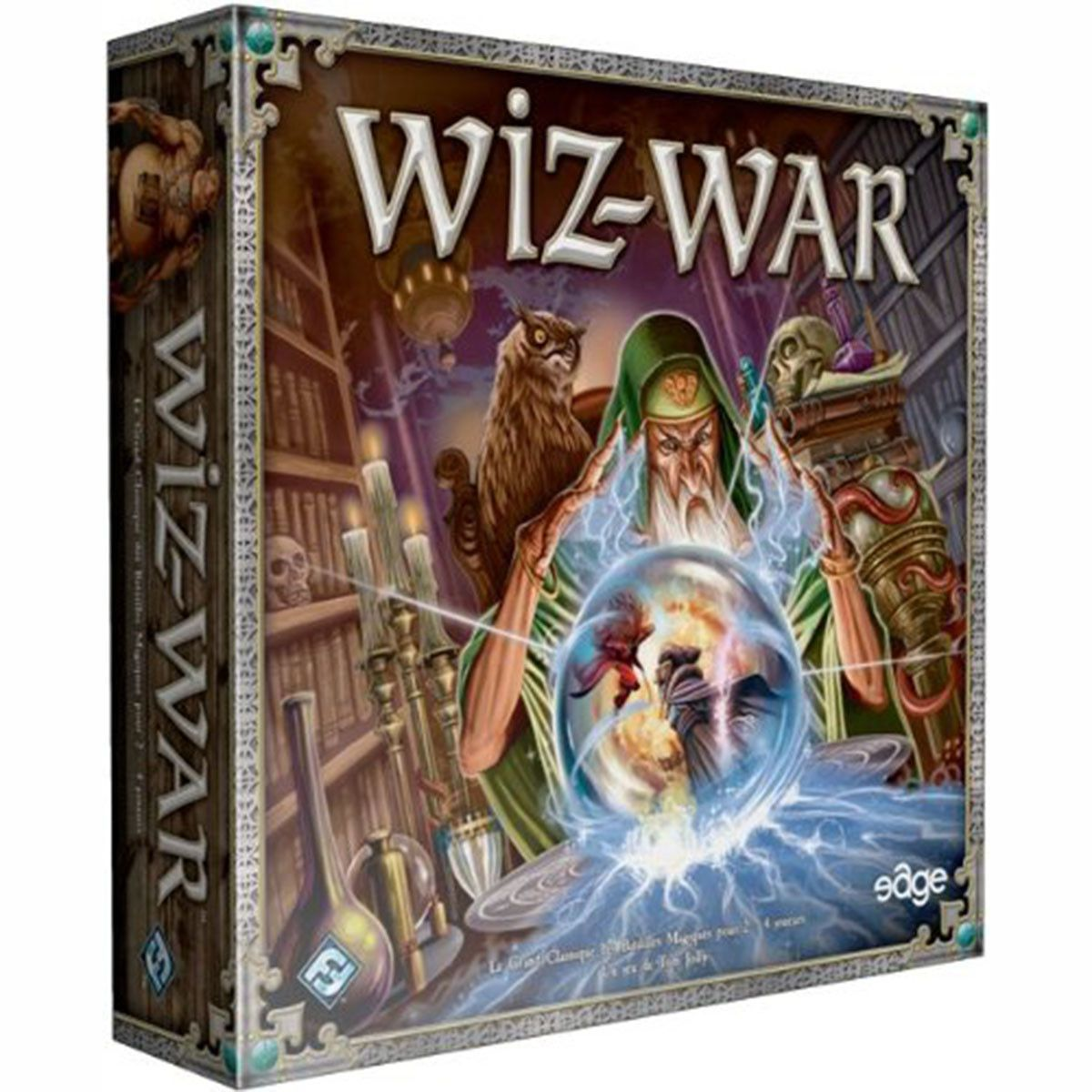 This is WizWar, a strategy board game that has been