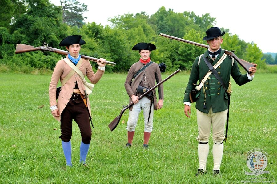 Uniform of the American Revolution | American Revolution ...