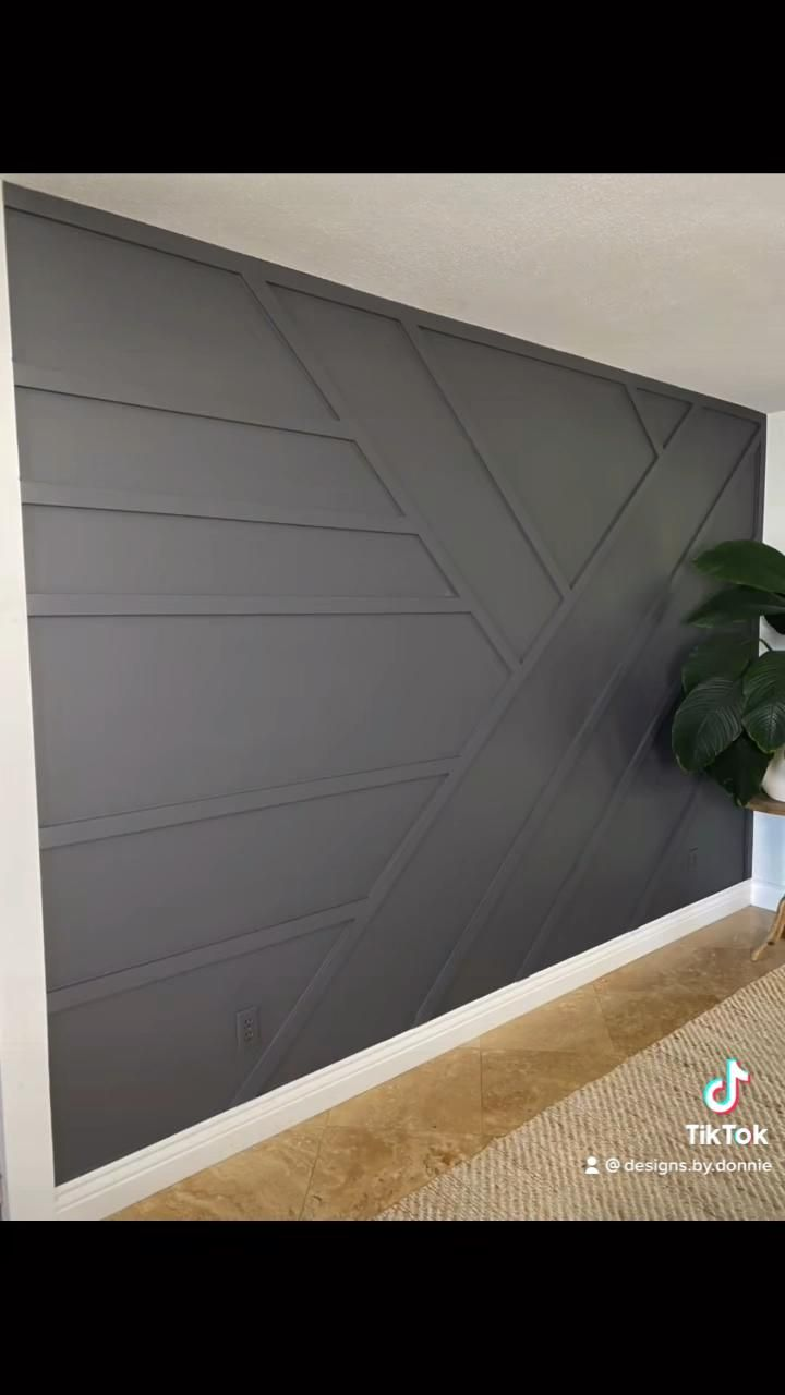 Accent wall Build!