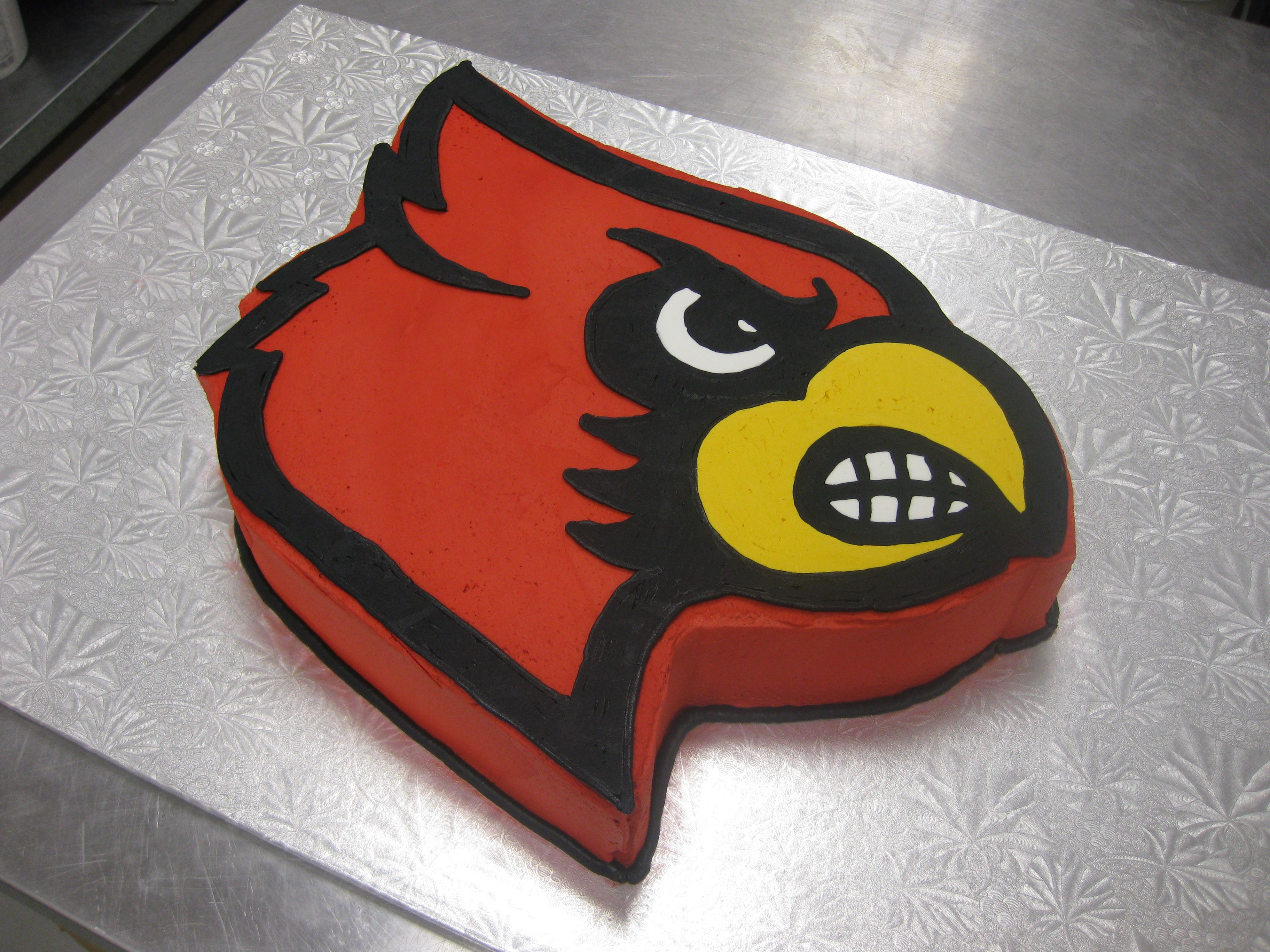 competitive price c0db9 dd825 University of Louisville Cardinals cake