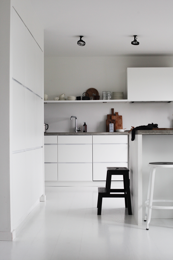 The Home Of Norwegian Blogger Home Kitchens Interior Modern Kitchen