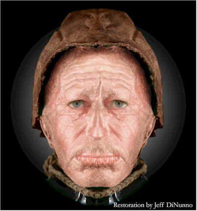 Tollund Man Tollund Man Forensic Facial Reconstruction Bog Body