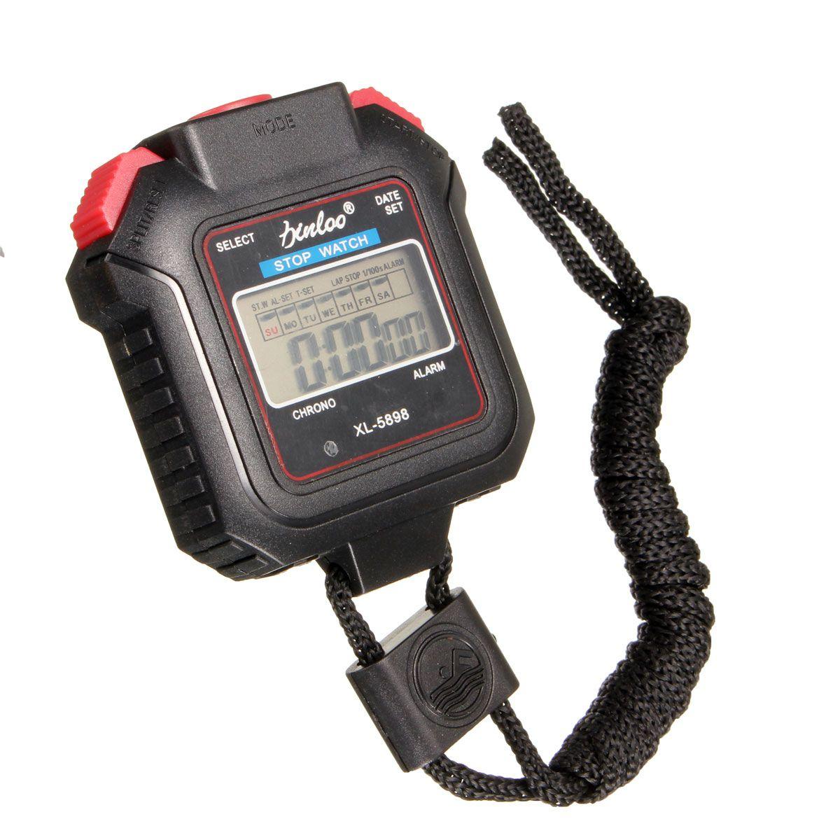 aa04cd552eaa Digital de los deportes del reloj de bolsillo cronómetro cronómetro  contador de alarma del temporizador se ejecuta
