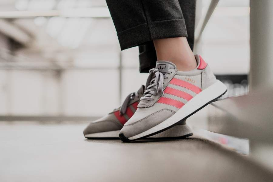 adidas I 5923 W (grau pink) CQ2528 | Wildleder
