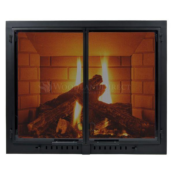 Sentinel Fireplace Glass Door Fireplace Doors Pinterest