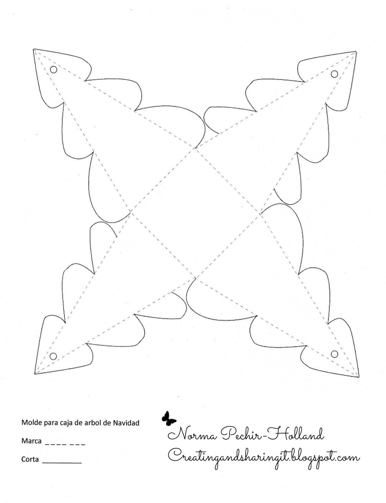GARABLOG : Cajitas en forma de arbolito