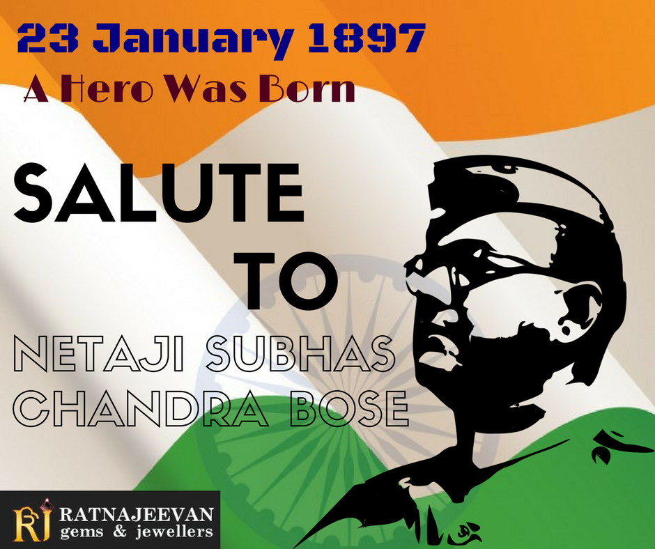 Happy Birthday to Netaji Subhas Chandra Bose Jai Hind
