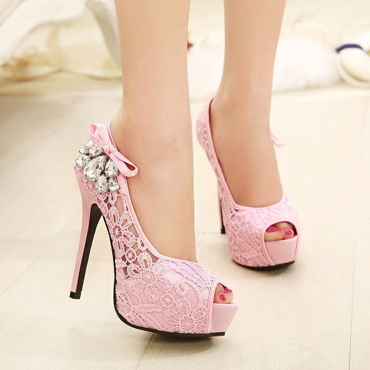 1000  images about Pink Shoes on Pinterest | Fashion shoes Closed