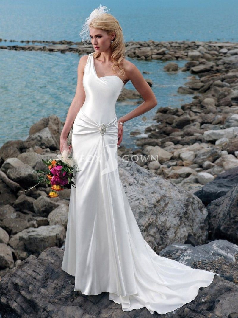 Best beach wedding dresses for guests   Beautiful Beach Wedding Dresses Venus Fashions  Street Fashion