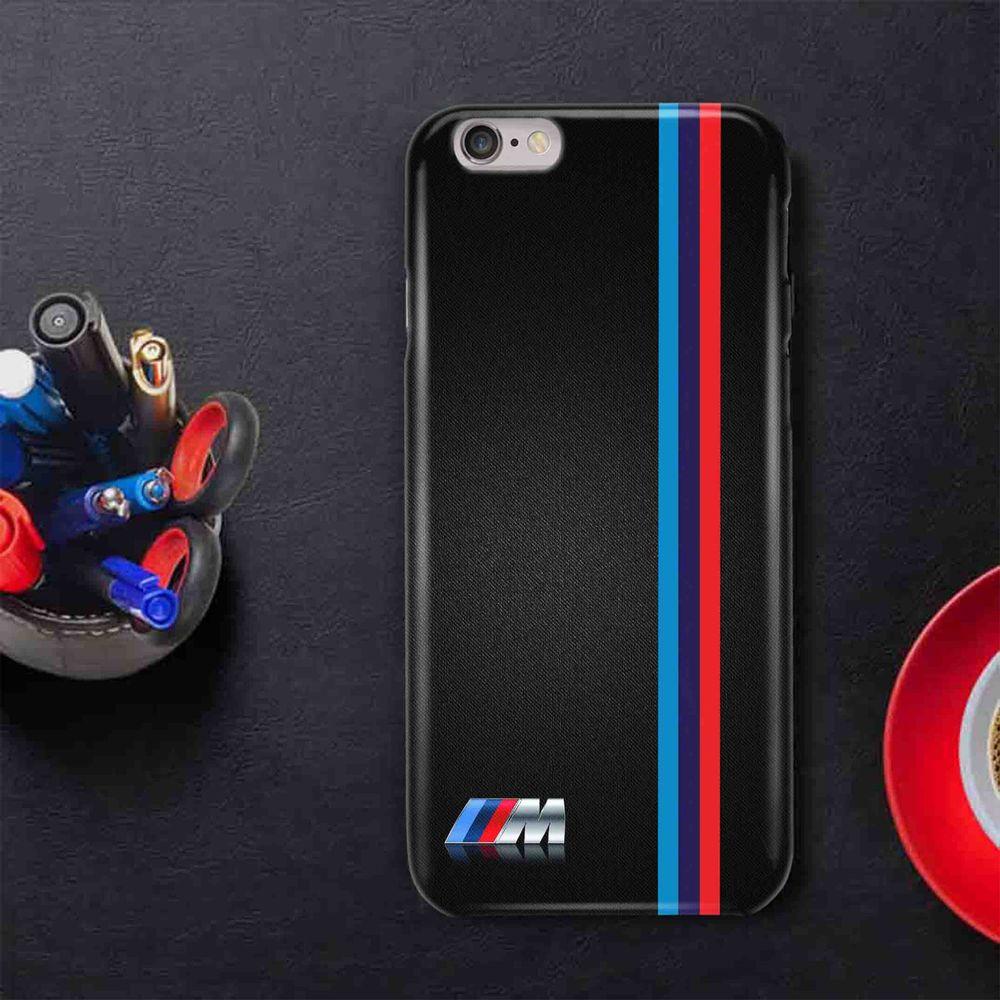 BMW Stripe Logo Custom For iPhone 4 4s f2fca59b5