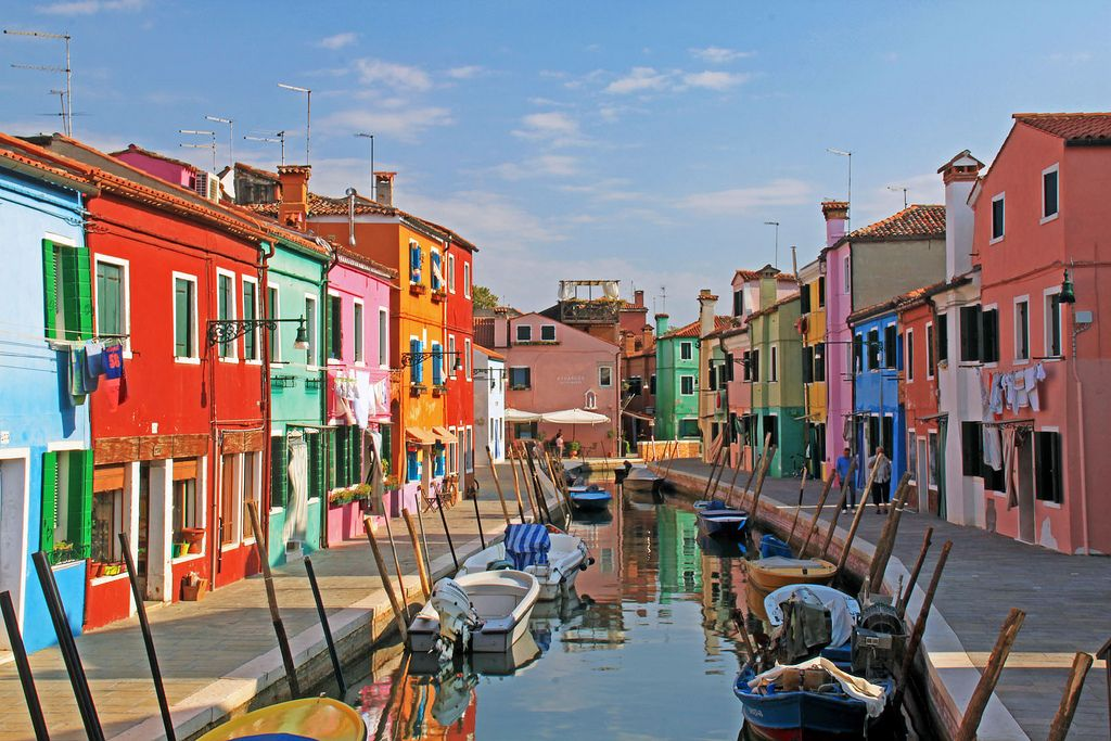 burano island venice Island of Burano in Venice and its