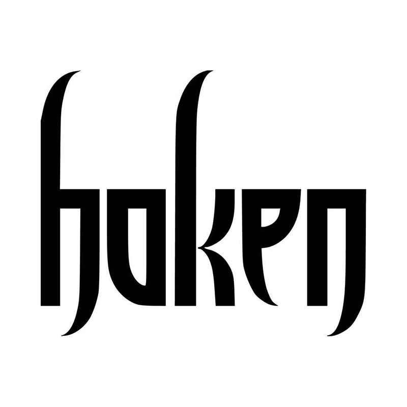 Haken band logo vinyl decal sticker