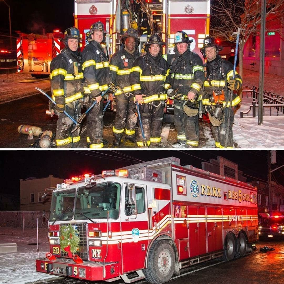 Featured Post Kempterfirewire Members Of Fdny Rescue Company 5 After Working A 2nd