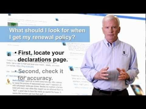 All About Homeowners Insurance Renewals Homeowners Insurance Content Insurance Insurance