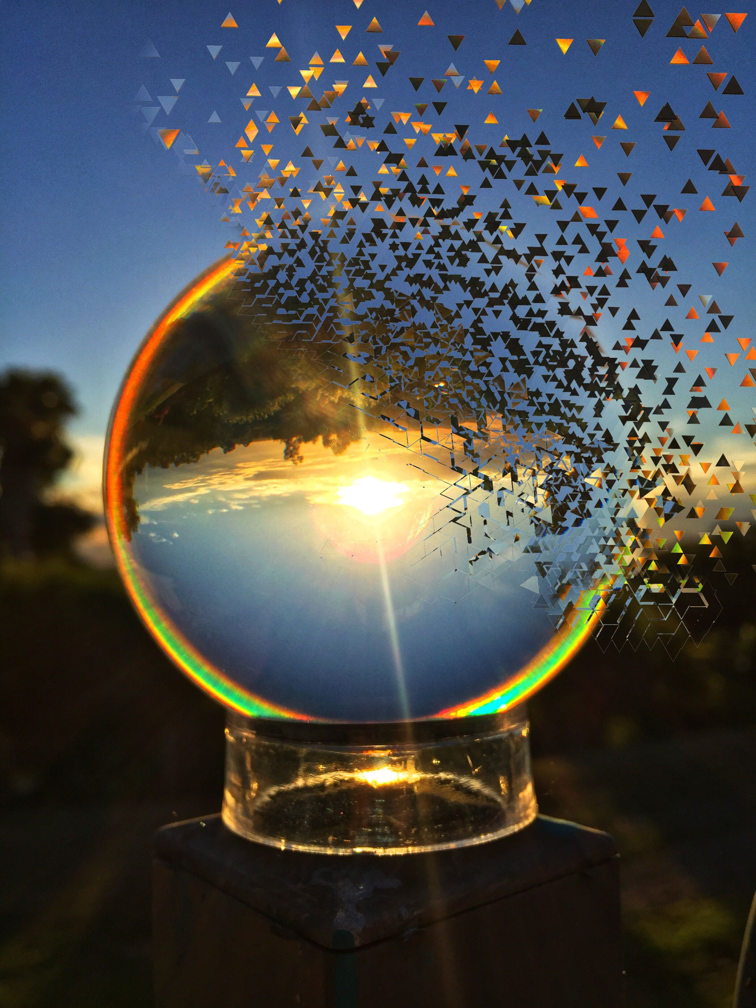 Lens Ball Photography Glass Ball Dispersion Refraction