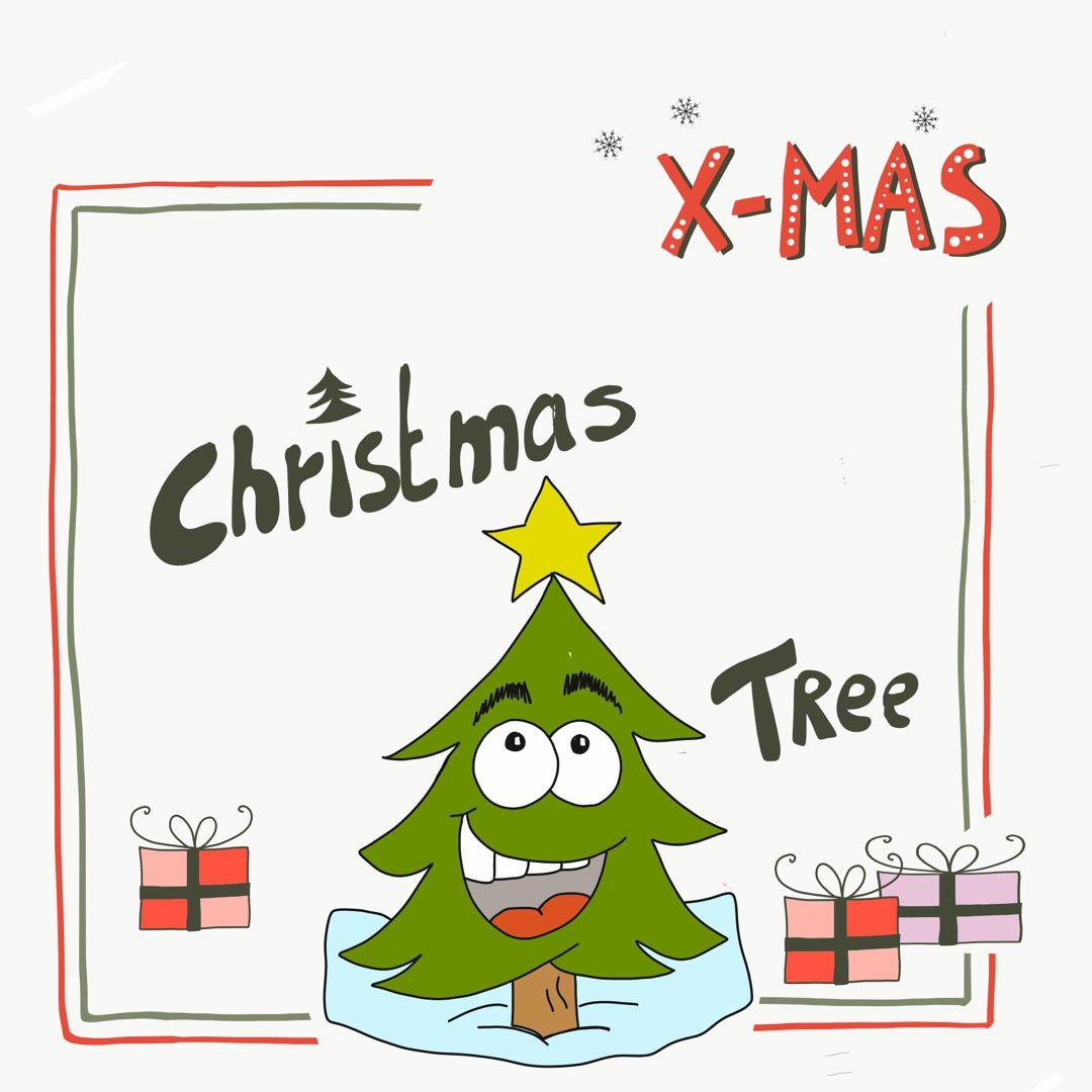 Weihnachtsbaum Comic.Ganz Easy Einen Comic Weihnachtsbaum Zeichnen Selber Zeichnen Ist