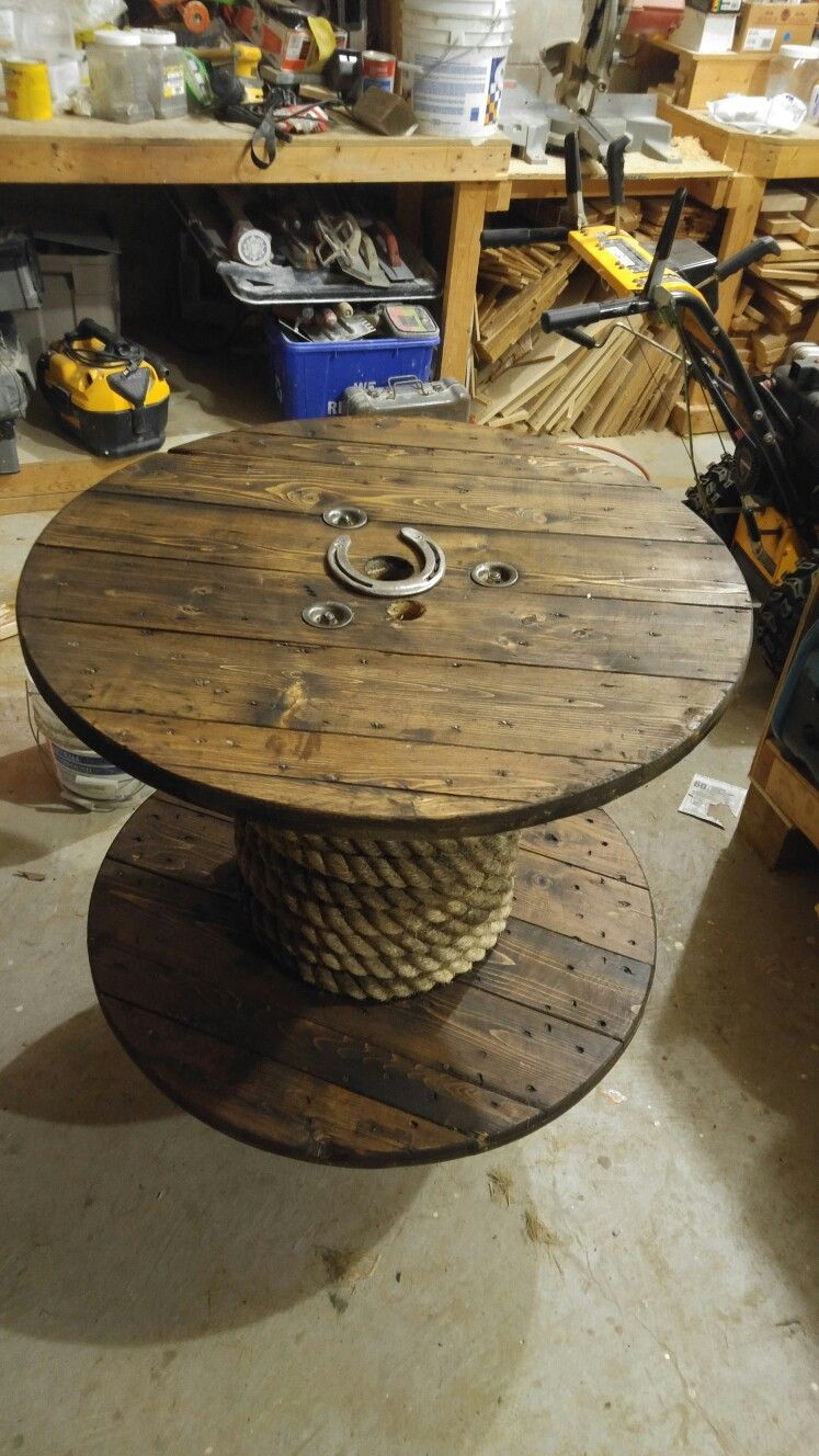Tremendous Diy Wooden Spool Coffee Table Wooden Diy Wooden Spools Caraccident5 Cool Chair Designs And Ideas Caraccident5Info