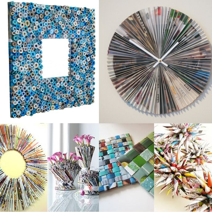 Diy Ideas Best Recycled Magazines Projects Magazine