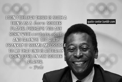 Inspirational Quotes by Soccer Players . | Soccer Quotes | Soccer