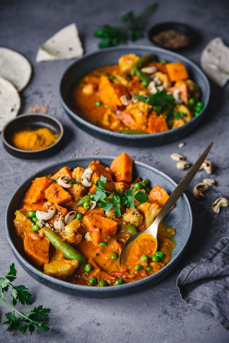 Photo of Indian sweet potato curry