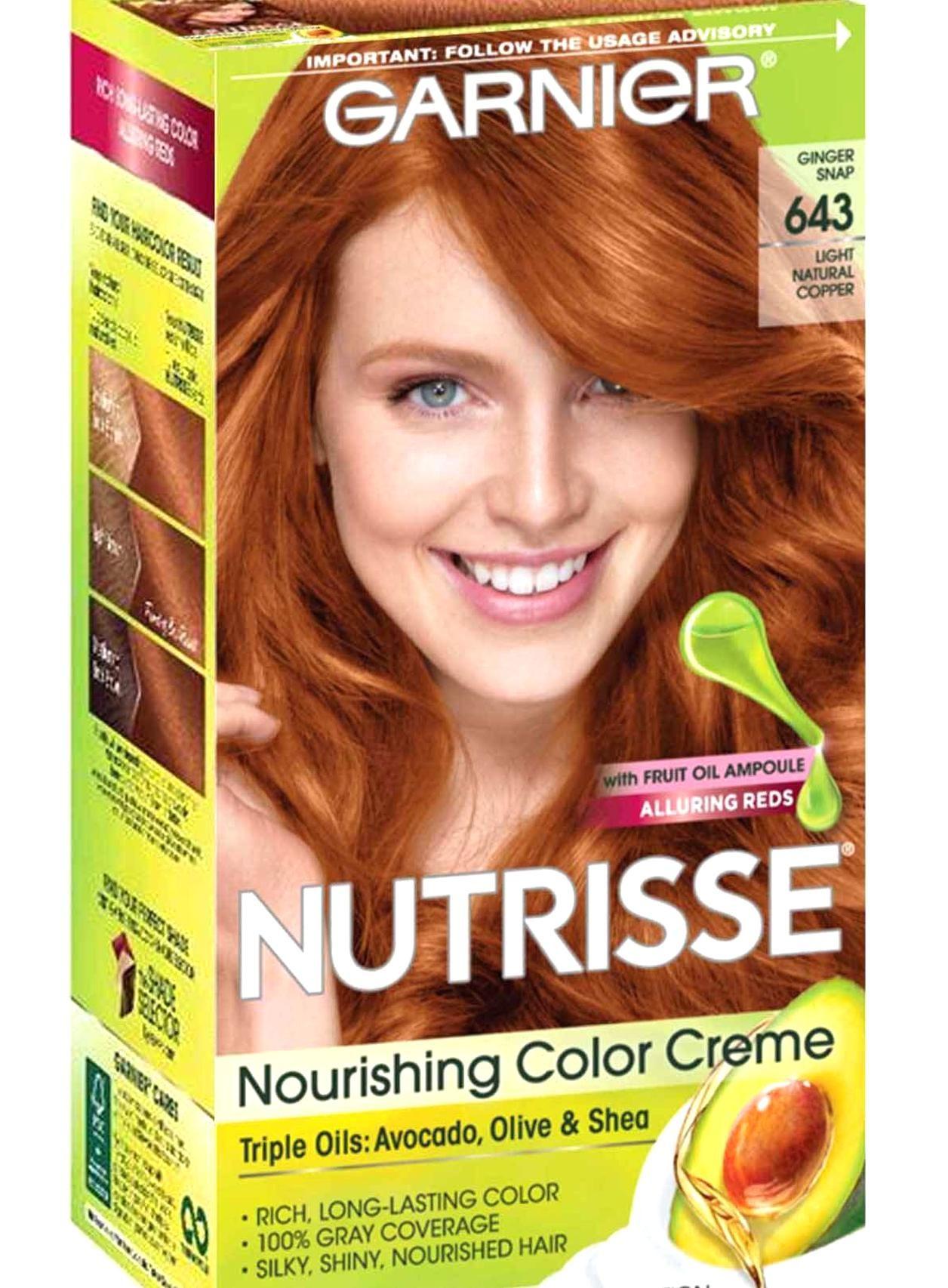 Permanent Semi Permanent Temporary Hair Color Garnier Hair Color Copper Hair Color Garnier Hair Color