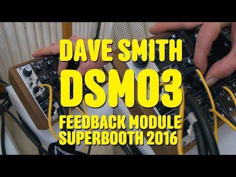 Dave Smith Instruments Intros 'Gnarly' DSM03 Feedback Module » Synthtopia