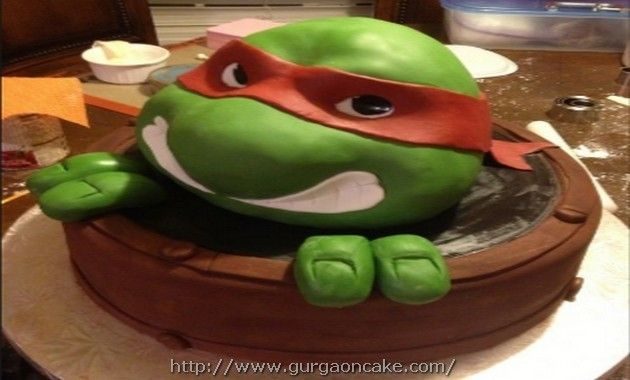 Ninja Turtle Birthday Cakes Memphis Tn