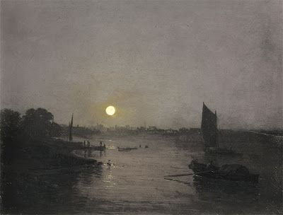 Image result for Turner painting of night