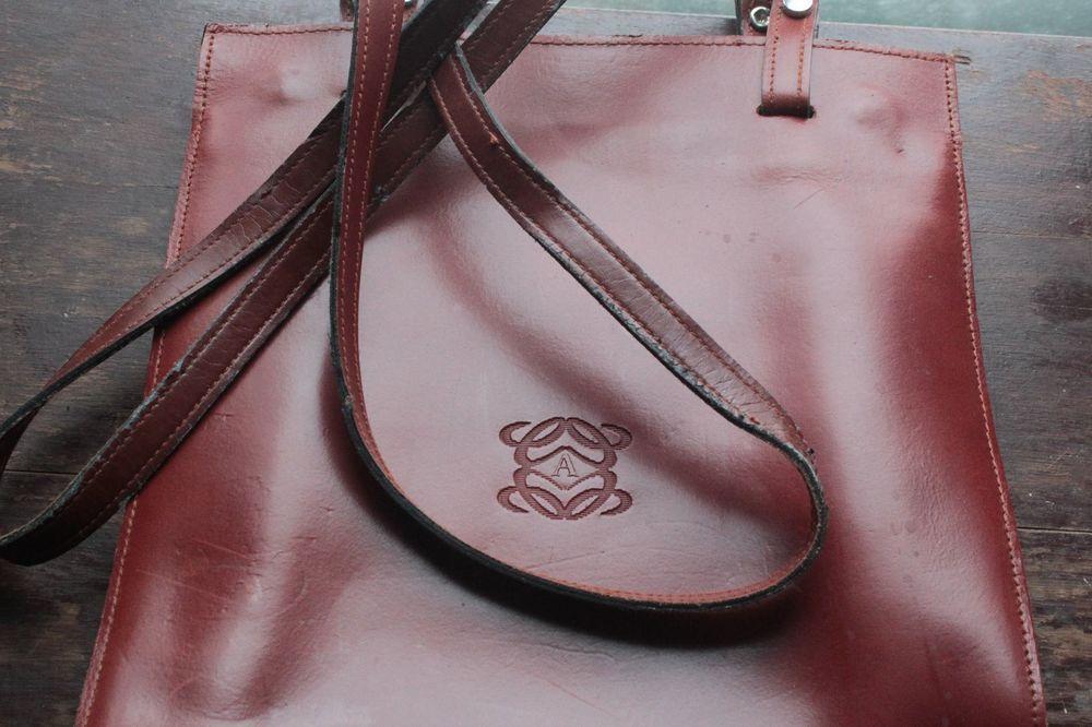 ON SALE! Ultra Rare BOSOLS CASAL Leather Tote - Spanish Designer - Sevilla Spain #BolsosCasal #TotesShoppers