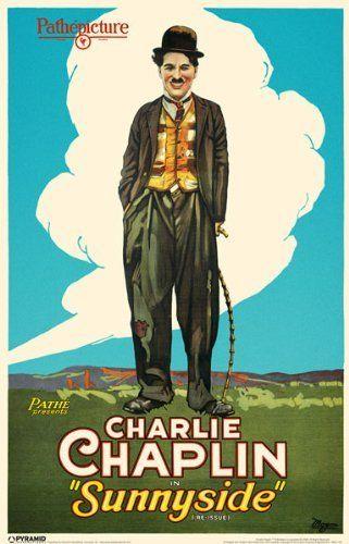 """Movie poster from """"Sunnyside"""" (1919) starring Charlie ..."""