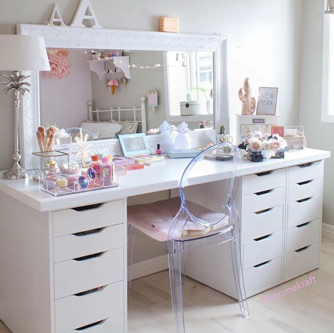 Featuring The Ikea Alex Drawers With Sonny Cosmetics Alex Drawer