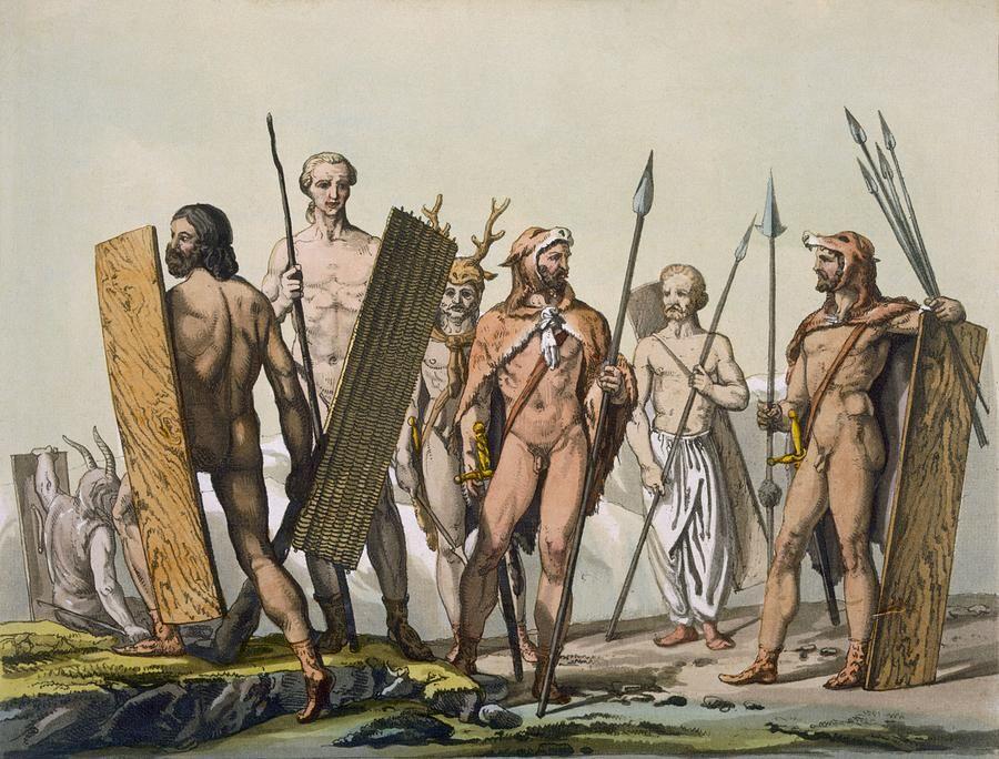 Warrior lovers in ancient ireland
