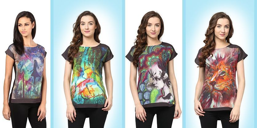 Digital print women tops to explore 7 moods of every girl  http://www.thevanca.com/blog/digital-print-women-tops-to-explore-7-moods-of-every-girl
