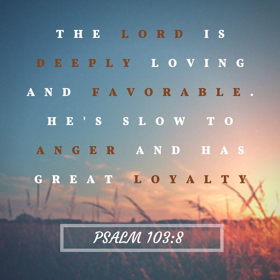 Psalm 103:8 #Jesus #bibleverses #inspiration