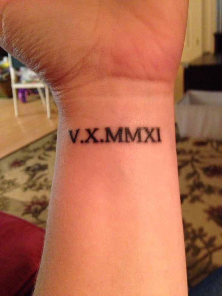 24++ Best Roman numeral tattoo ideas ideas in 2021