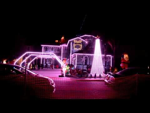 HQ] Christmas Lights On a House with Music - Trans Siberian ...