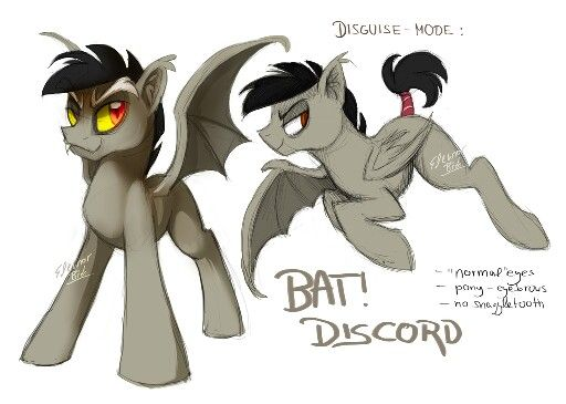 Discord pony disguise | princess Eris/ prince discord from