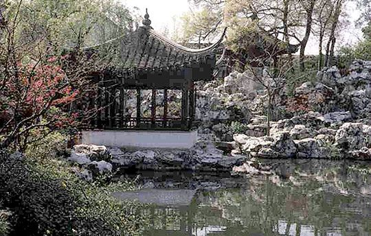 Charmant Chinese Water Garden Design