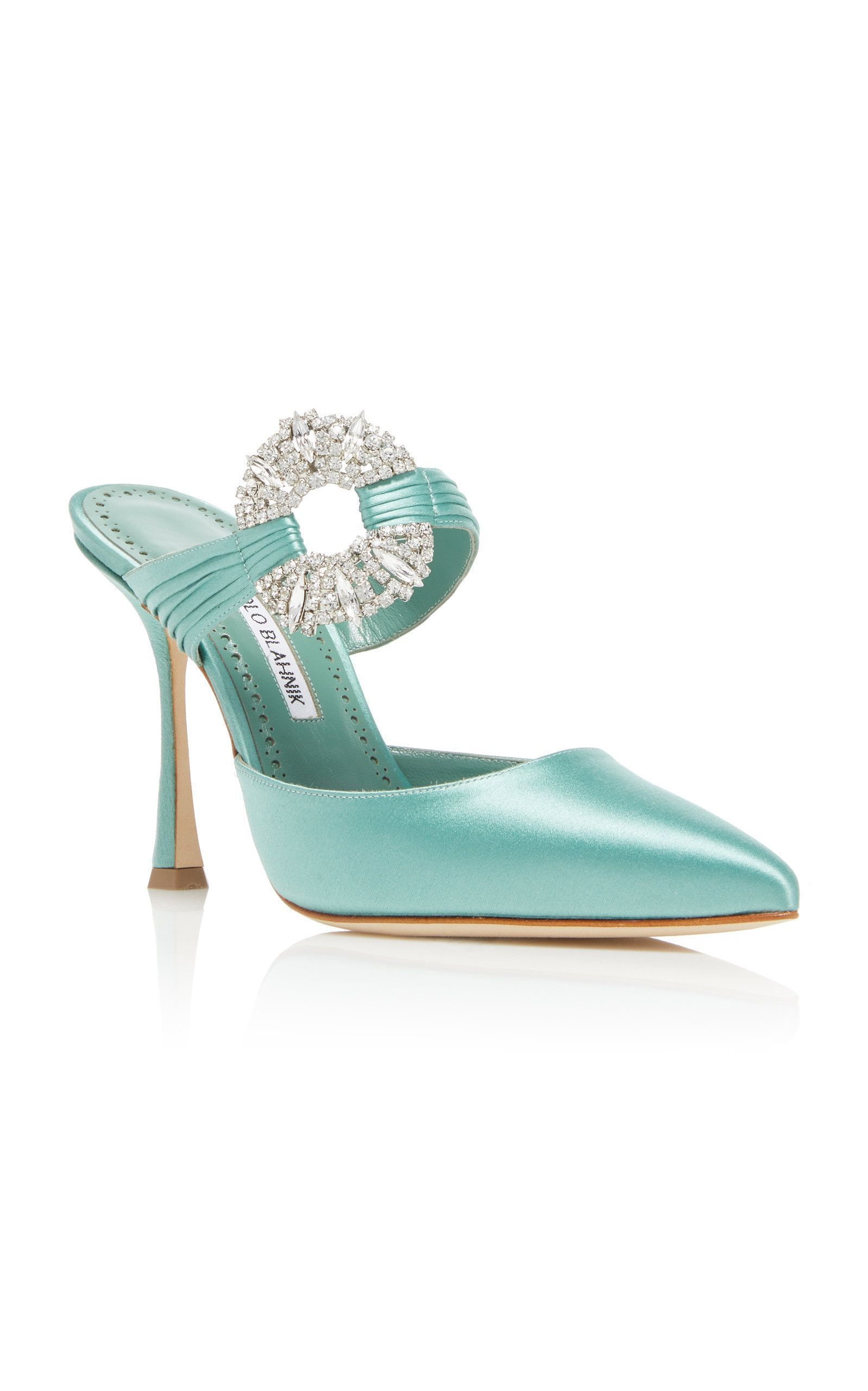 Manolo Blahnik Women's Maidugur Jewel Mule