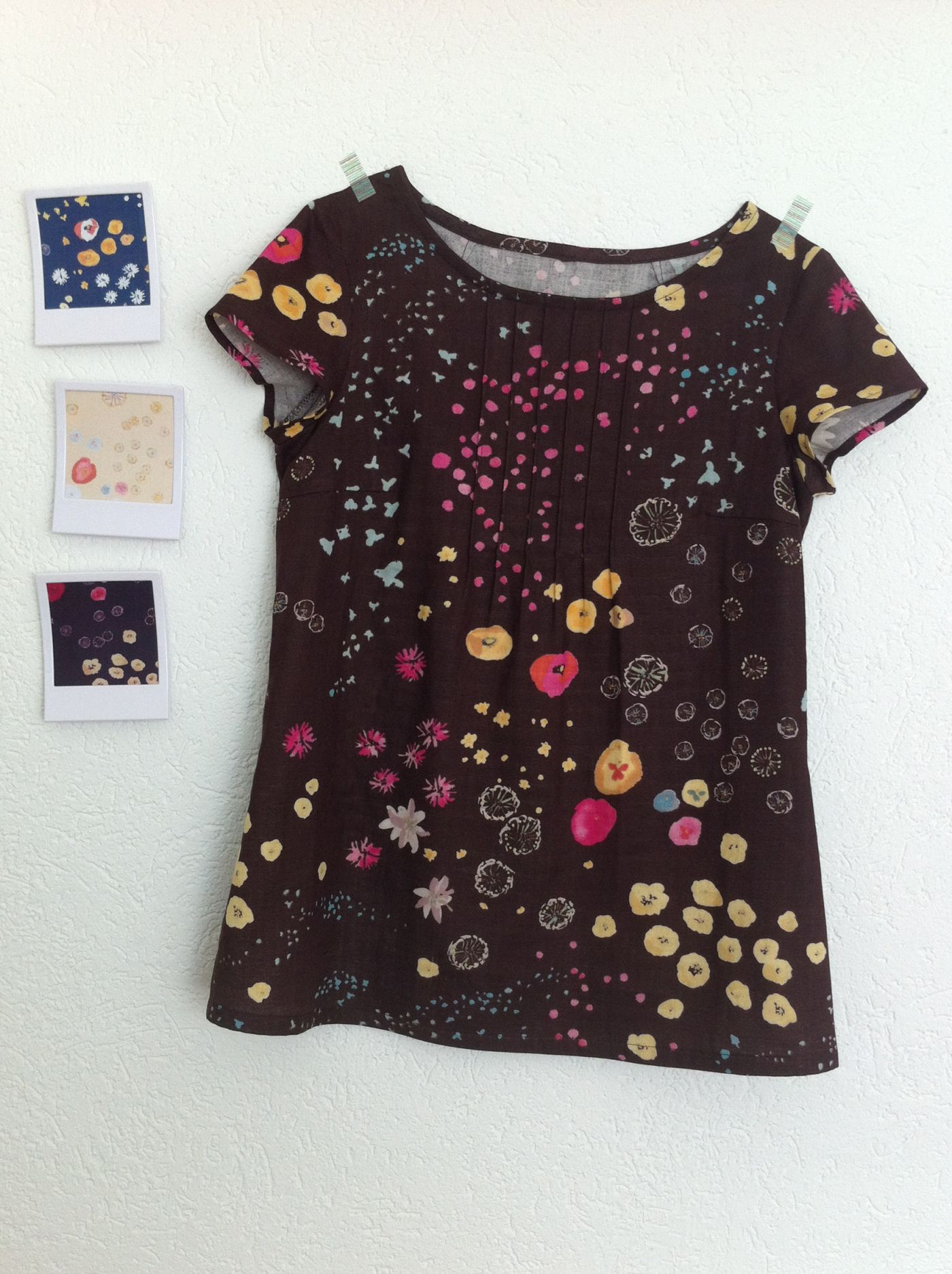 Blouse Ottobre Design en double gaze Nani Iro #naniiro https://www ...