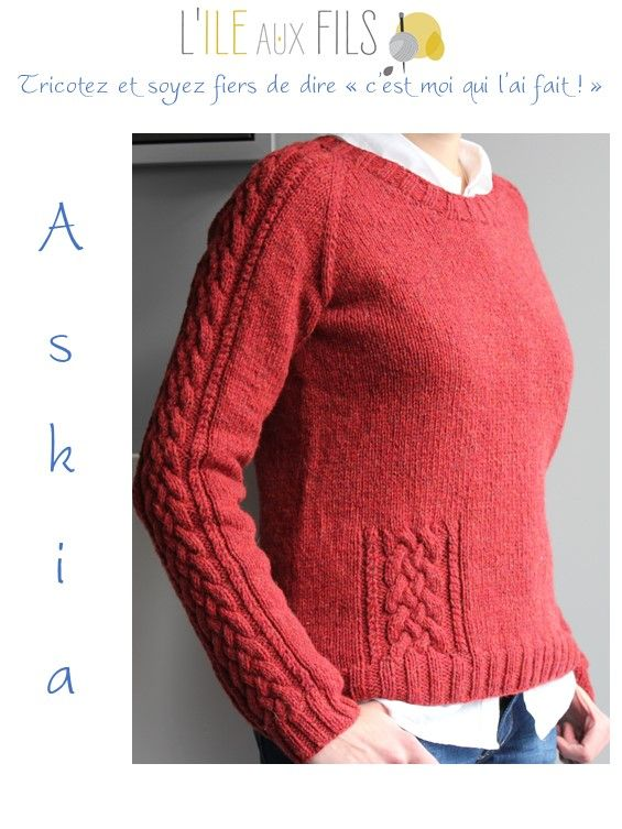 Photo of Pull tricot ASKIA